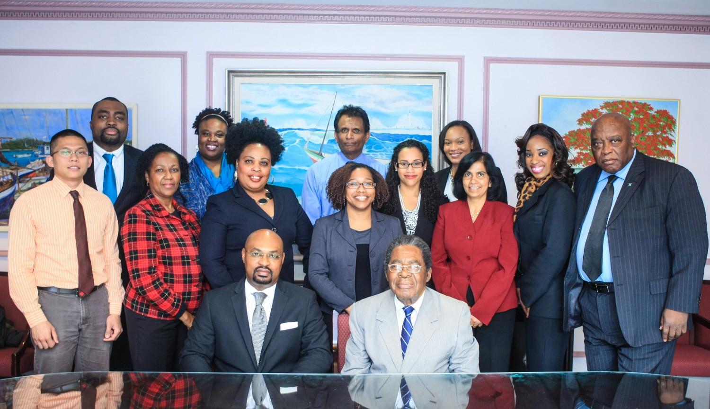 Bahamas Embassy Staff
