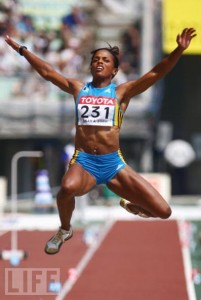 JACKIE EDWARDS (LONG JUMP)