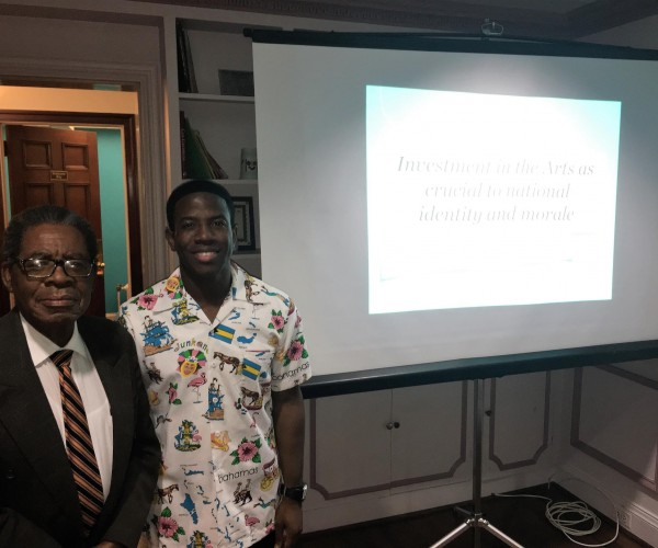 DION CUNNINGHAM AND DR. NEWRY