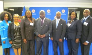 RAHMING AND BAHAMIAN DELEGATION AT CICAD