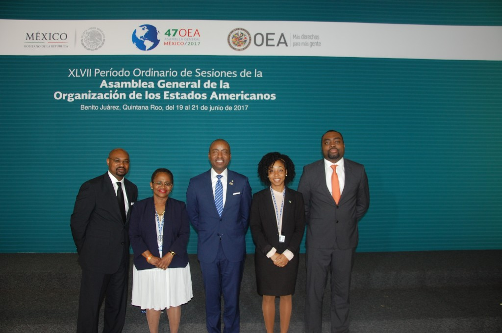Bahamas Delegation to the 47th OAS General Assemply Photo 1