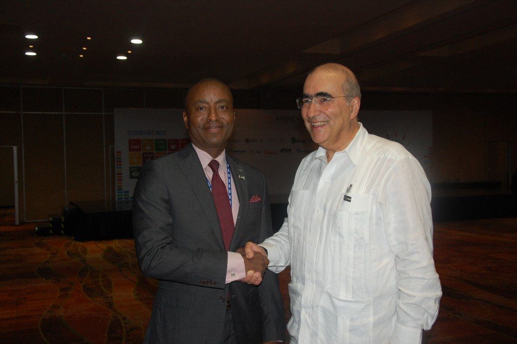 Minister Henfield and Brazil Deputy Foreign Minister