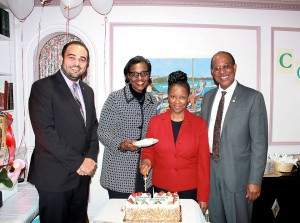 Embassy honours Ms Isaacs