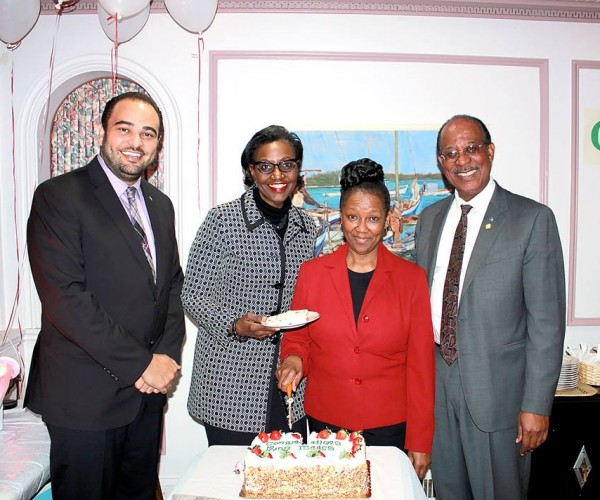 Embassy honours Ms Isaacs